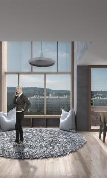 Duplex interior view